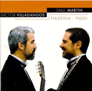 Se incluye obras originales para flauta y guitarra de los comopositores argentinos: Astor Piazzolla y Máximo Pujol.