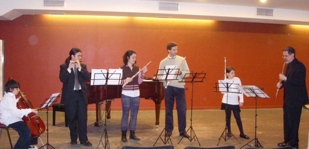 Grupo de flautas