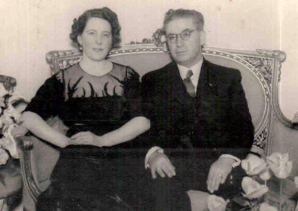 Maestro Alfredo Schiuma y Evelina Paolantonio
